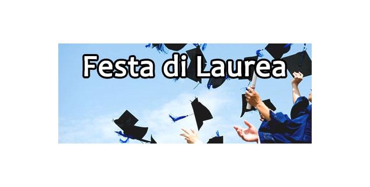 festa di laurea a Napoli