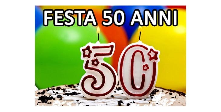 Fabuleux Festa di Compleanno 50 anni Organizza la tua festa HS95